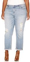 A.N.A a.n.a Skinny Fit Boyfriend Jeans - Plus