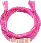 Aurelie Bidermann Takayama Bracelet With Pink Quartz