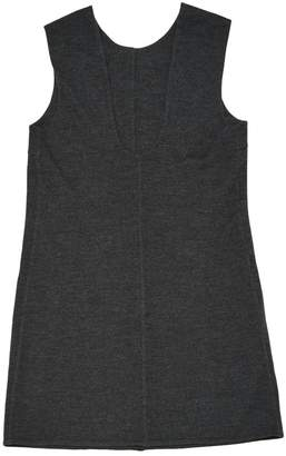 Prada \N Anthracite Wool Dresses