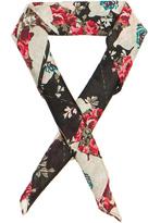 Rag & Bone Kimono Floral Bandana Neck Tie