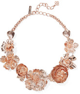 Oscar de la Renta Rose Gold-plated Necklace