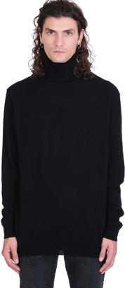 Laneus Knitwear In Black Wool