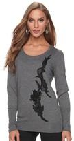 Apt. 9 Women's Sequin Applique Crewneck Sweater