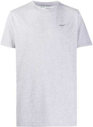 Off-White logo-print relaxed-fit T-shirt