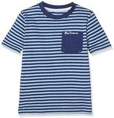 Ben Sherman Boy's Fine Stripe T-Shirt