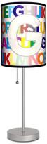 Lamp-In-A-Box Letter G Monogram Lamp