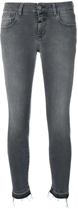 Closed Low Rise Skinny Jeans