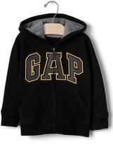 Gap Logo raglan zip hoodie