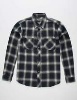 Point Zero DISTORTION Deep Sea Mens Flannel Shirt
