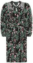 Giambattista Valli Floral silk crepe de chine dress