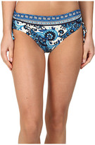 MICHAEL Michael Kors Padua Paisley Shirred Hipster Bottom