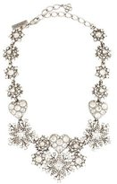 Oscar de la Renta Swarovski Crystal Statement Necklace