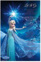 Art.com Disney's Frozen ''Let It Go'' Poster Wall Art by