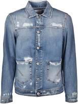 Dondup Fay Distressed Denim Jacket