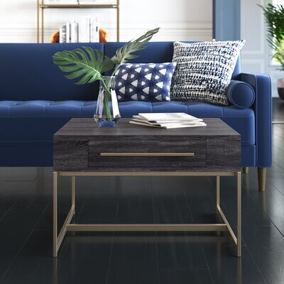 Thumbnail for your product : Mercury Row Kallistrate Coffee Table with Storage