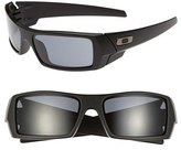 Oakley Men's 'Gascan' 60Mm Sunglasses - Matte Black/ Grey