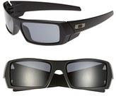Oakley Men's 'Gascan' 60Mm Sunglasses - Matte Black/ Grey