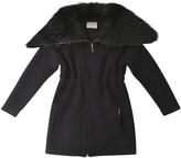 Yves Salomon Blue Cashmere Coat for Women