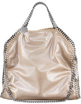 Stella McCartney Falabella Fold-Over Tote Bag, Red Wood Blush