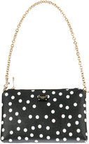 Dolce & Gabbana polka dot print mini bag - women - Cotton/Polyester/Polyurethane - One Size