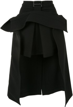 Dion Lee suspended trench skirt