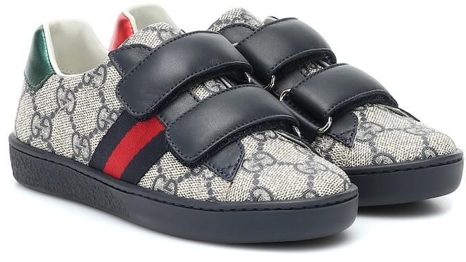 Gucci Kids Ace GG Supreme sneakers