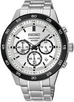 Seiko Men's Chronograph Special Value Stainless Steel Bracelet Watch 44mm SKS531