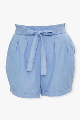 Forever 21 Plus Size Paperbag Shorts