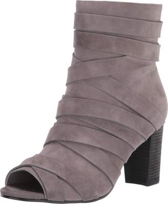Sbicca womens Peep-toe Bootie Heeled Sandal