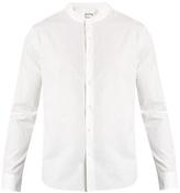 Wooyoungmi Collarless cotton shirt