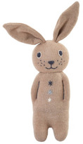 Anne Claire Cotton Jersey Rabbit Soft Toy With Bell