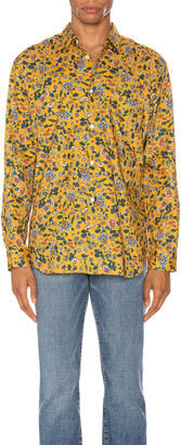 Comme des Garçons Shirt Long Sleeve Shirt in Yellow | FWRD