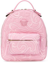 Versace Palazzo chain backpack - women - Leather - One Size