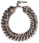 Lafayette 148 New York Women's Reversible Chain Link Necklace