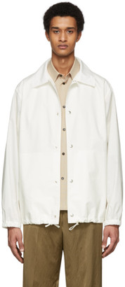 Jil Sander Off-White Essential Outdoor Jacket