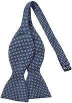 Forzieri Small Polkadot Self-tie Silk Bowtie
