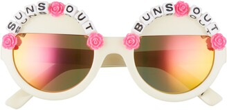 Rad + Refined Suns Out Buns Out Round Sunglasses