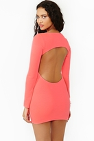 Nasty Gal Neon Midnight Dress