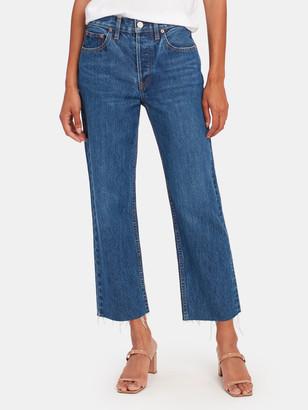 TRAVE Vivienne Crop Straight Leg Jeans