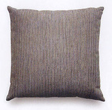 Chenille Stripe Pillow In Silver