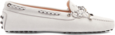 Tod's Gommini lace-up suede loafers