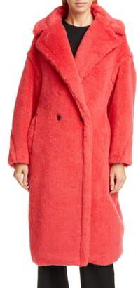 Max Mara Tedgirl Faux Fur Teddy Bear Coat