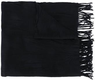 Acne Studios Crinkled Wool Scarf