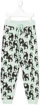Mini Rodini Panther print trousers