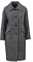 Tagliatore Women's Grey Wool Coat.