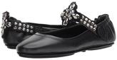 Tory Burch Minnie Two-Way Embellished Ballet Women's Dress Flat Shoes