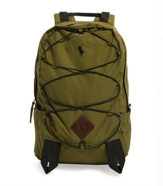 Ralph Lauren Embroidered Logo Backpack
