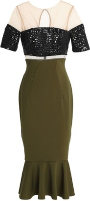 Rachel Gilbert 3/4 length dresses