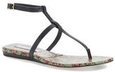 Diane von Furstenberg &Perugia& T-Strap Sandal (Women)