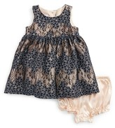 Frais Infant Girl's Floral Lace Dress